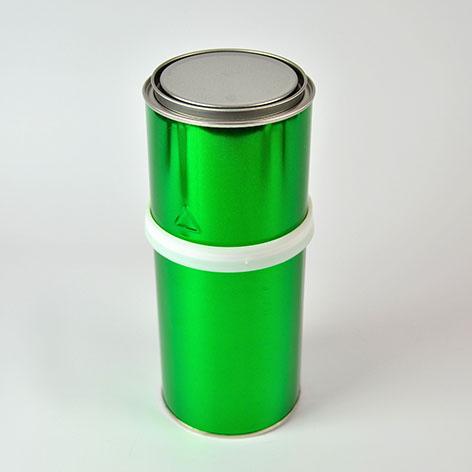 Cilíndrico Metálico combinado Aro de plástico - diámetro 100