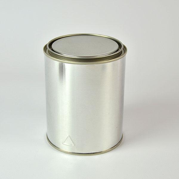 Cilíndrico Metálico 0,750 ml diámetro 100 mm de tapa a presión