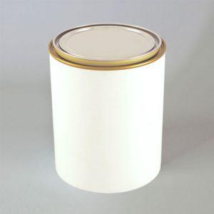 Cilíndrico HYBRID (plástico + metal)  01 Litro