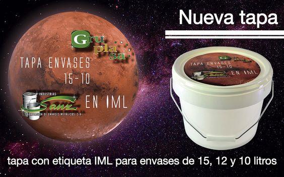 Tapa con etiqueta IML 15-12-10