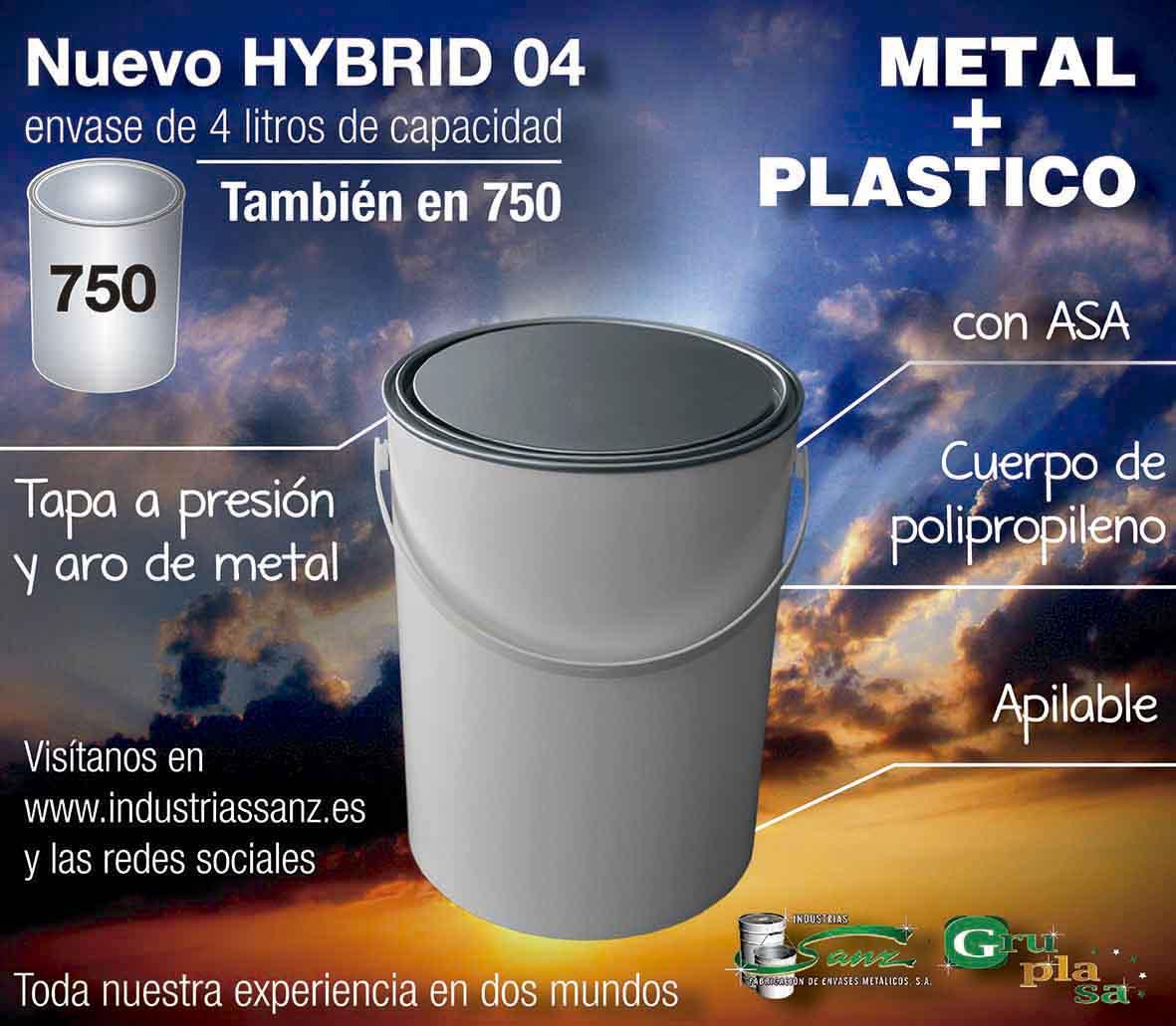 HYBRID 04 litros