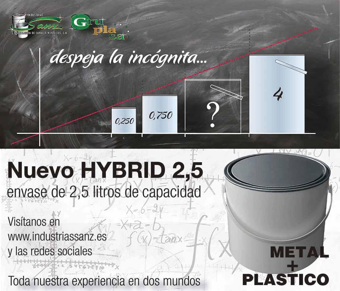 HYBRID 2,5 litros